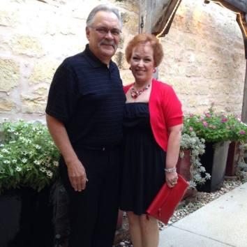 Mom & Dad dressed up
