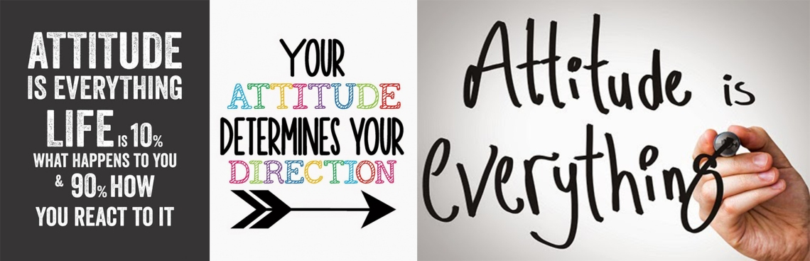 Attitude collage