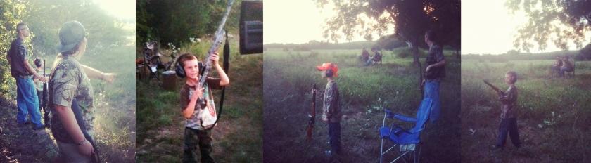 Jake's 1st hunting trip